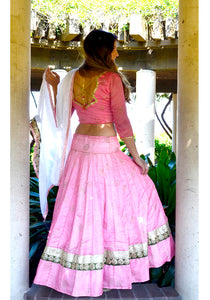 Summer Rose-Gopi Skirt Lehenga