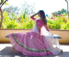 Load image into Gallery viewer, Summer Rose-Gopi Skirt Lehenga