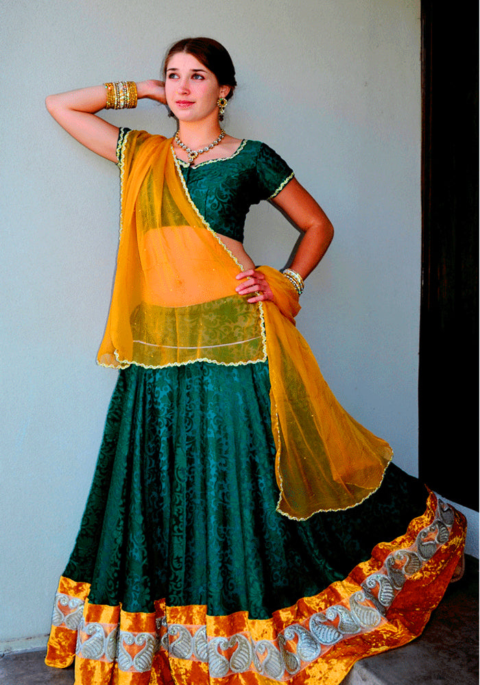 Heavenly Goddess-Gopi Skirt Lehenga