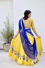 Load image into Gallery viewer, Golden Avatar-Gopi Skirt Lehenga SOLD OUT