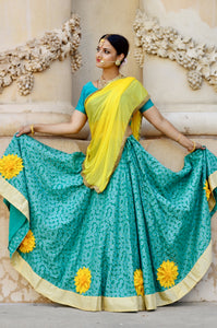 Stand Out in the Crowd - Gopi Skirt Outfit