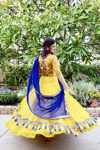 Golden Avatar-Gopi Skirt Lehenga SOLD OUT