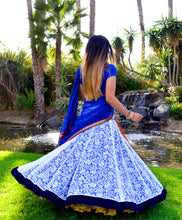 Load image into Gallery viewer, Dancing with the Wind - Lehenga Saree