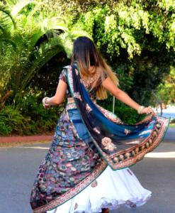 Every Word is a Song - Saree Lehenga