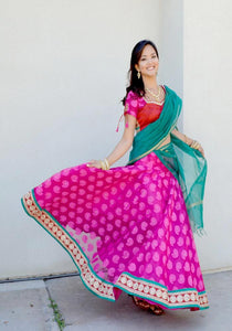 Caught By The Spot Light - Gopi Skirt Lehenga
