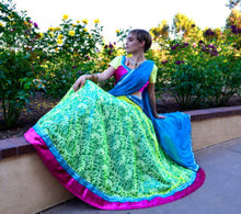 Load image into Gallery viewer, Spring Breeze-Gopi Skirt Lehenga