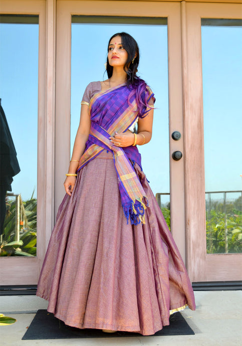 Lavender Beauty- Gopi Skirt Outfit
