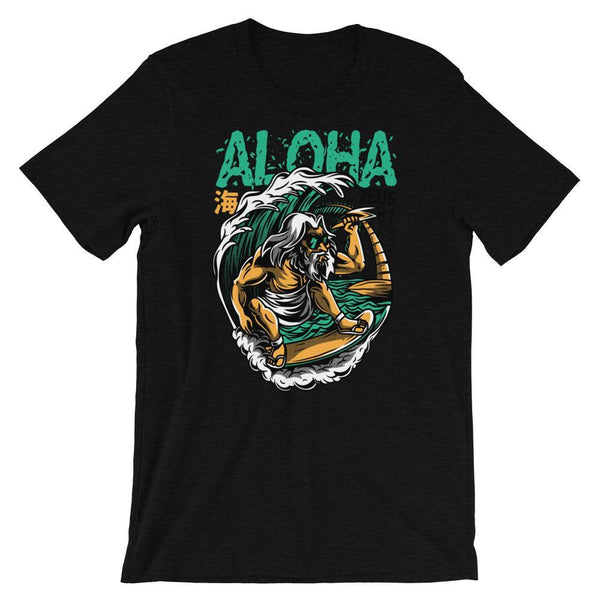 Black Heather / XS Aloha Men's T-Shirt