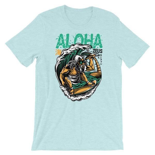 Heather Prism Ice Blue / XS Aloha Men's T-Shirt