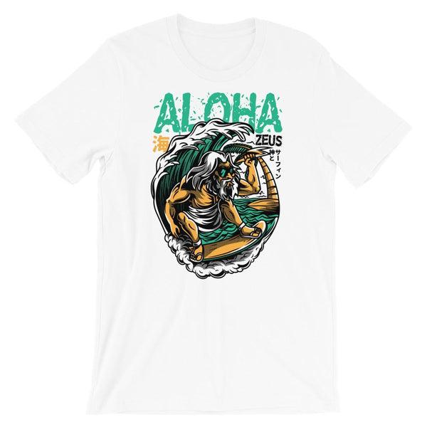 White / XS Aloha Men's T-Shirt