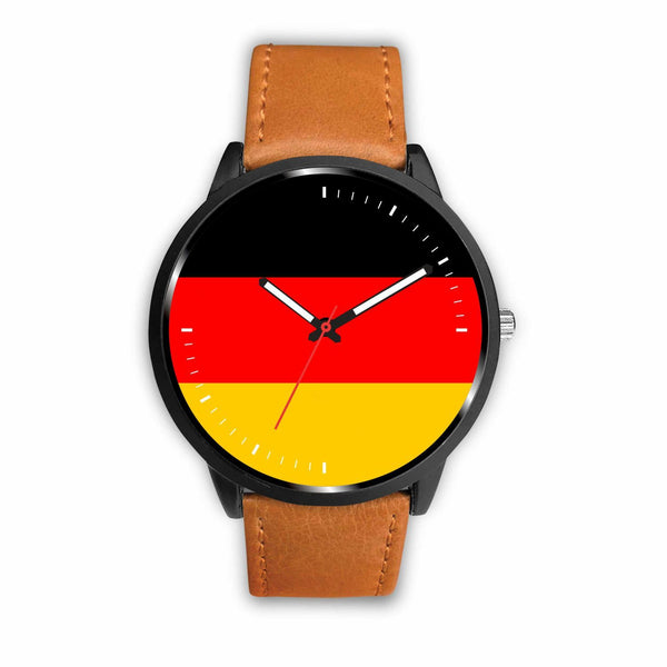Watch Mens 40mm / Brown German Game