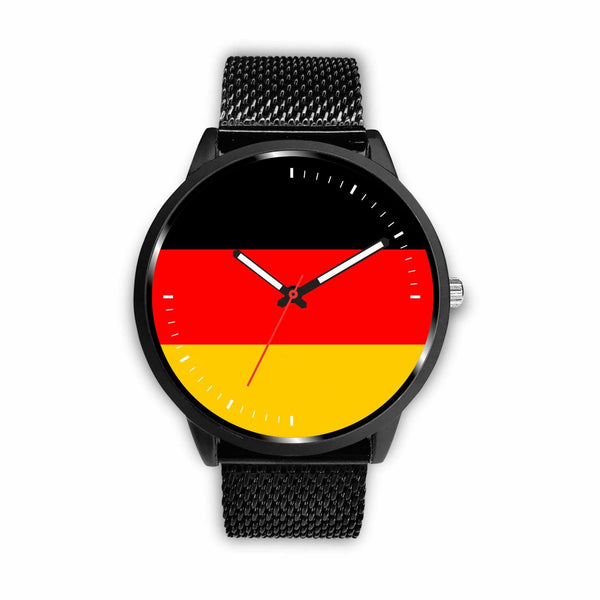 Watch Mens 40mm / Metal Mesh German Game