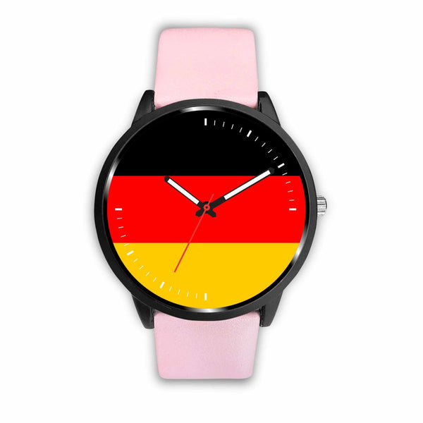 Watch Mens 40mm / Pink German Game