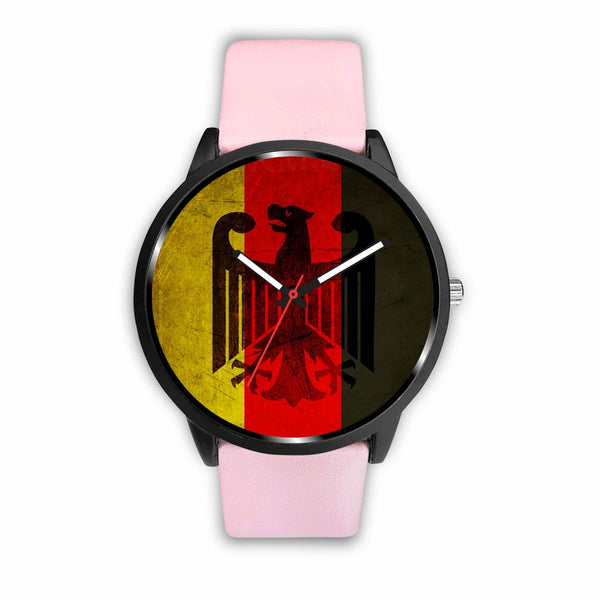 Watch Mens 40mm / Pink German Power Analog Watch