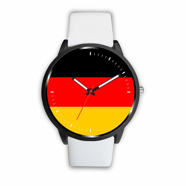 Watch Mens 40mm / White German Game