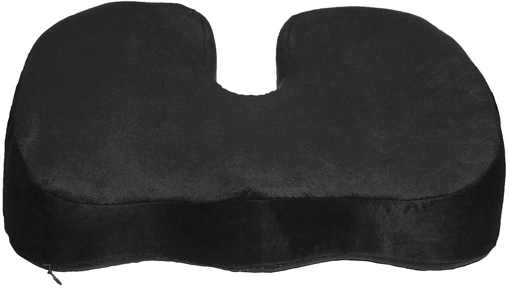 Coccyx Orthopedic Gel Enhanced Comfort Foam - Sciatica Relief - Seat Cushion