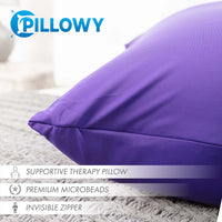 Pillow & Cover / Dark Lavendar