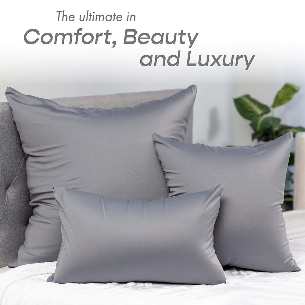 Pillow & Cover / Dark Grey