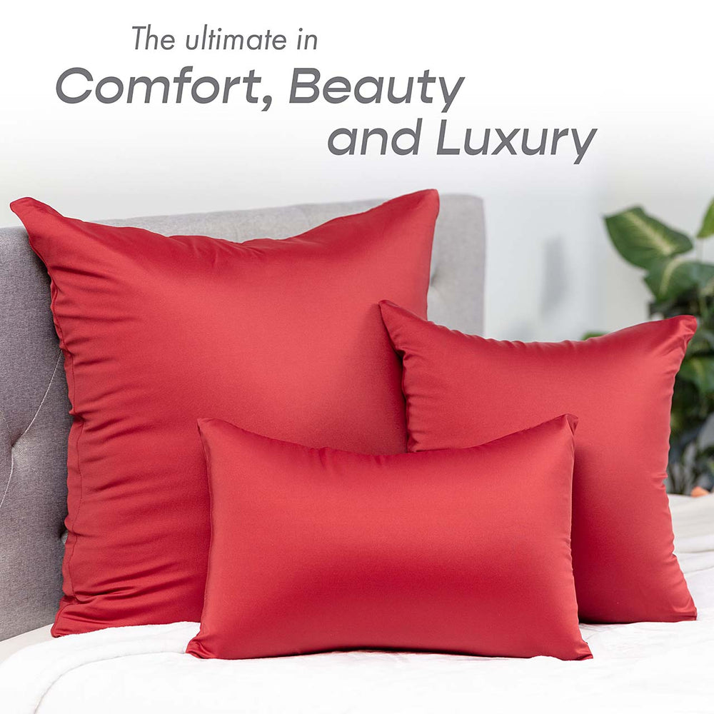Pillow & Cover / Maroon