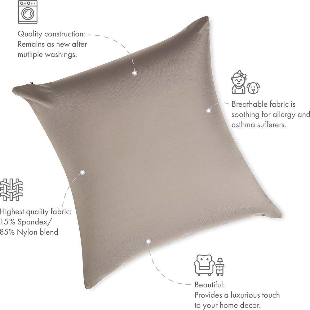 Pillow & Cover / Stone Grey