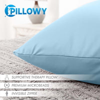 Pillow & Cover / Sweat Baby Blue