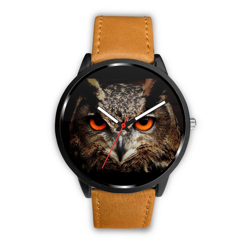 Owl With Cat Eyes Watch