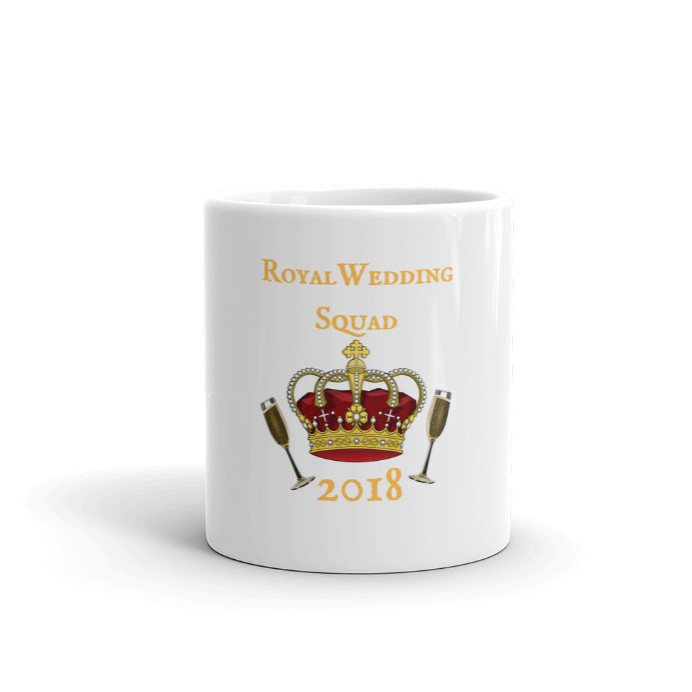 Royal Wedding Champagne Squad 2018 Mug made in the USA