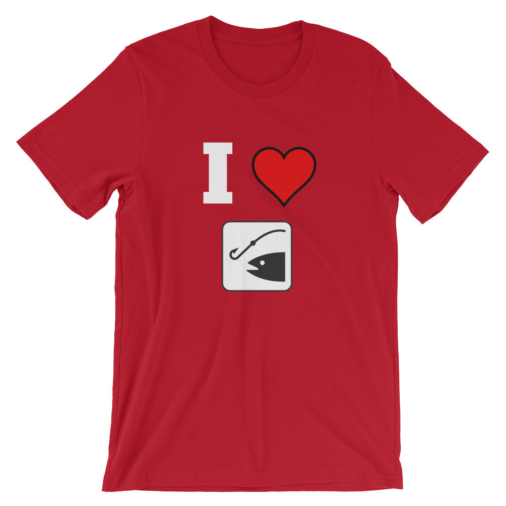 I Love Fishing Father's Day T-Shirt