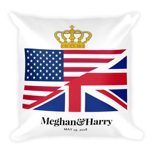 Royal Wedding 2018 Square Pillow - Peanutbutter's Closet