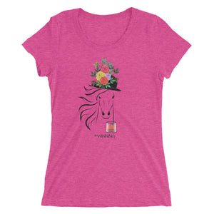 Horse Derby #Winning Bourbon Ladies' short sleeve t-shirt