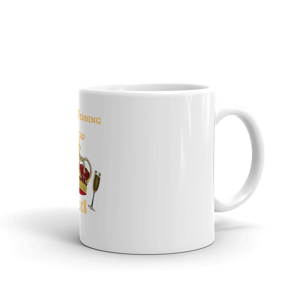 Royal Wedding Champagne Squad 2018 Mug made in the USA - Peanutbutter's Closet