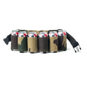 6 Pack Holster Portable Bottle Waist Beer Belt Bag