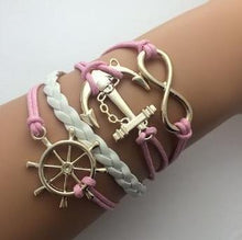 Leather Double Infinite Bracelets - Peanutbutter's Closet