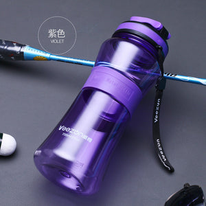 700ML BPA free Plastic Sports Water Bottle  Sport Bike Cycling Durable Bottle