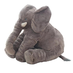 Large Elephant Plush Sleep Pillow Baby Toy - Peanutbutter's Closet