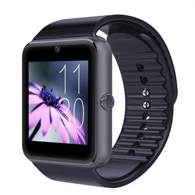 GT08 Bluetooth Smartwatch Smart Watch with SIM Card Slot and 2.0MP Camera for iPhone / Samsung and Android Phones - Peanutbutter's Closet