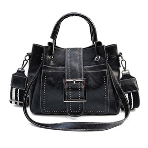 The Harper Bag Vintage Bucket Shoulder Bag Ladies Handbag
