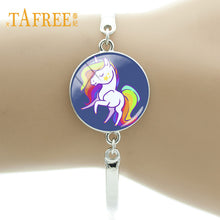 Cute Cartoon Unicorn Horse Bracelet Silver  Chain Bracelet - Peanutbutter's Closet