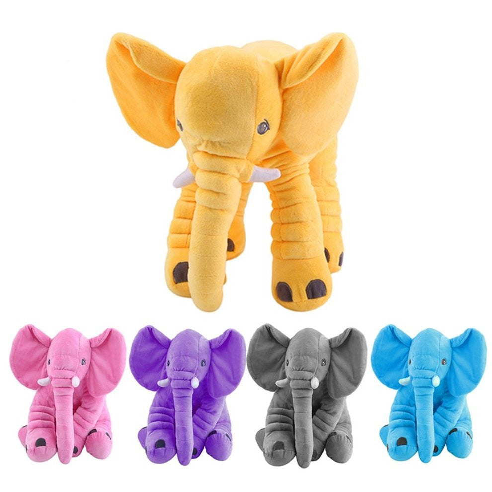 Stuffed Animal Cute Elephant Shape Cotton Kids Baby Sleeping Soft Pillow