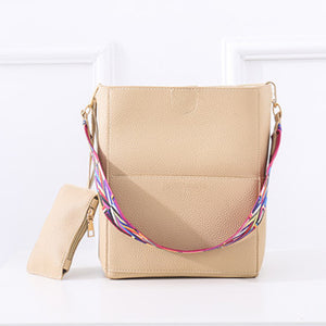 2018 New Luxury Designer Famous Shoulder Leather Gray Crossbody Bag - Peanutbutter's Closet