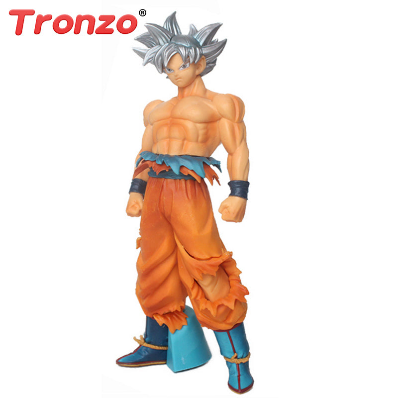 Tronzo 2018 New 26cm Ultra Instinct Goku Dragon Ball Collectible With Original Box