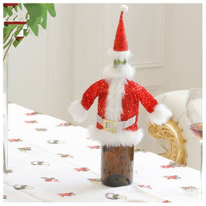 Holiday Wine Bottle Cover