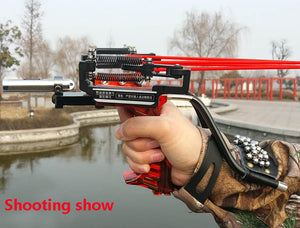 Powerful Hunting Fishing Laser Flashlight Slingshot