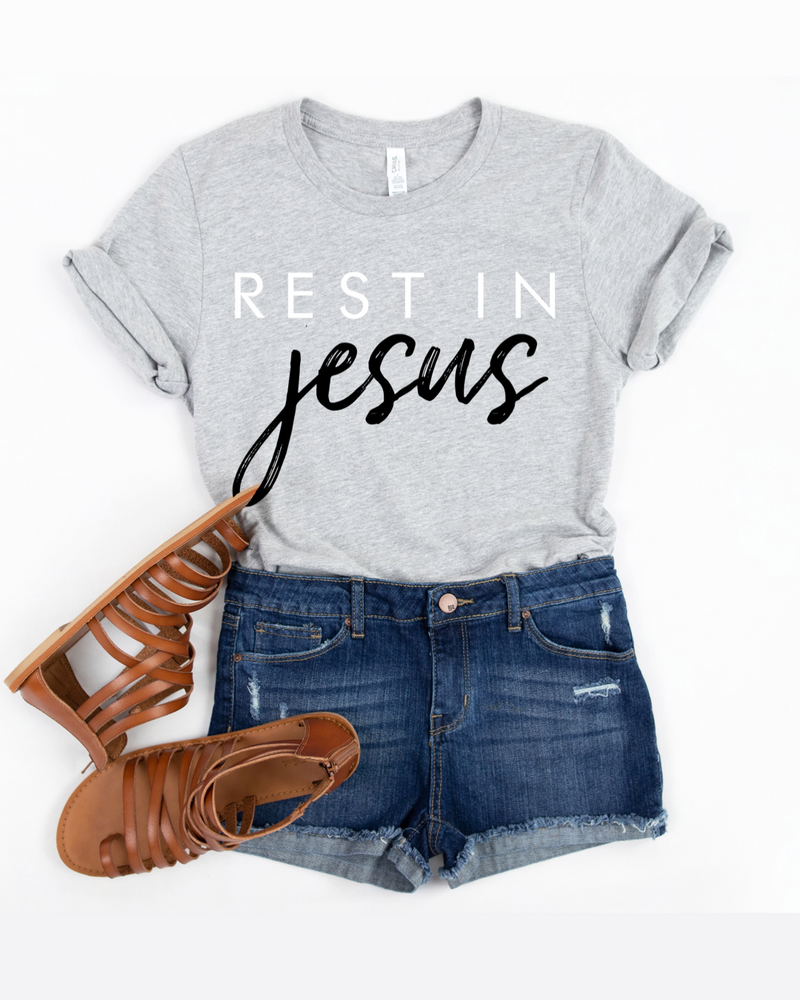 Rest In Jesus T-Shirt