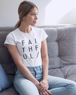 Faithful T-Shirt (Black Letters)
