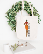 Jasmine Cotton Tote Bag