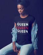 Queen T- Shirt - Black