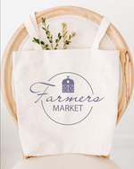 Farmers Market Cotton Tote Bag