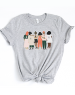GIRLS! T-Shirt - Heather Grey