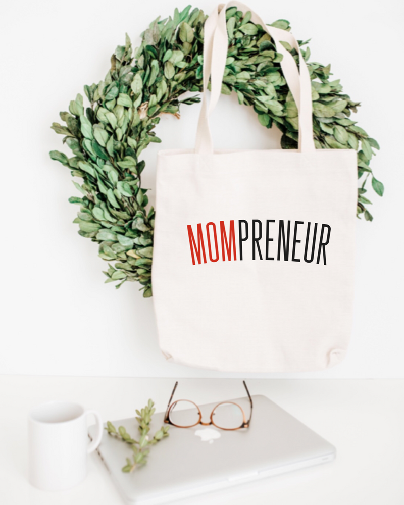 Mompreneur Cotton Tote Bag
